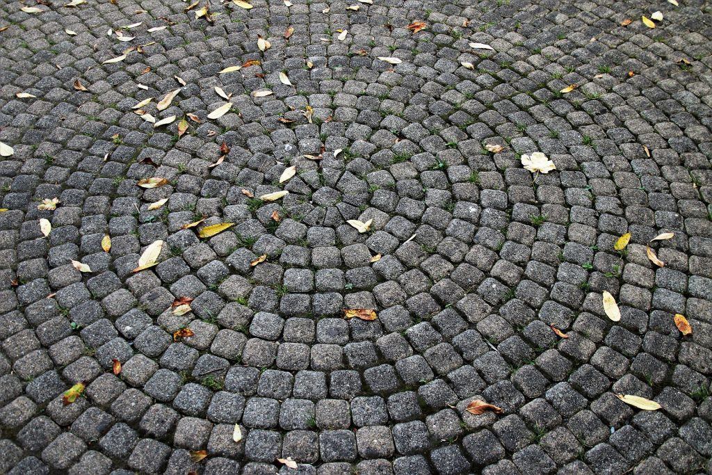 pavers in circle