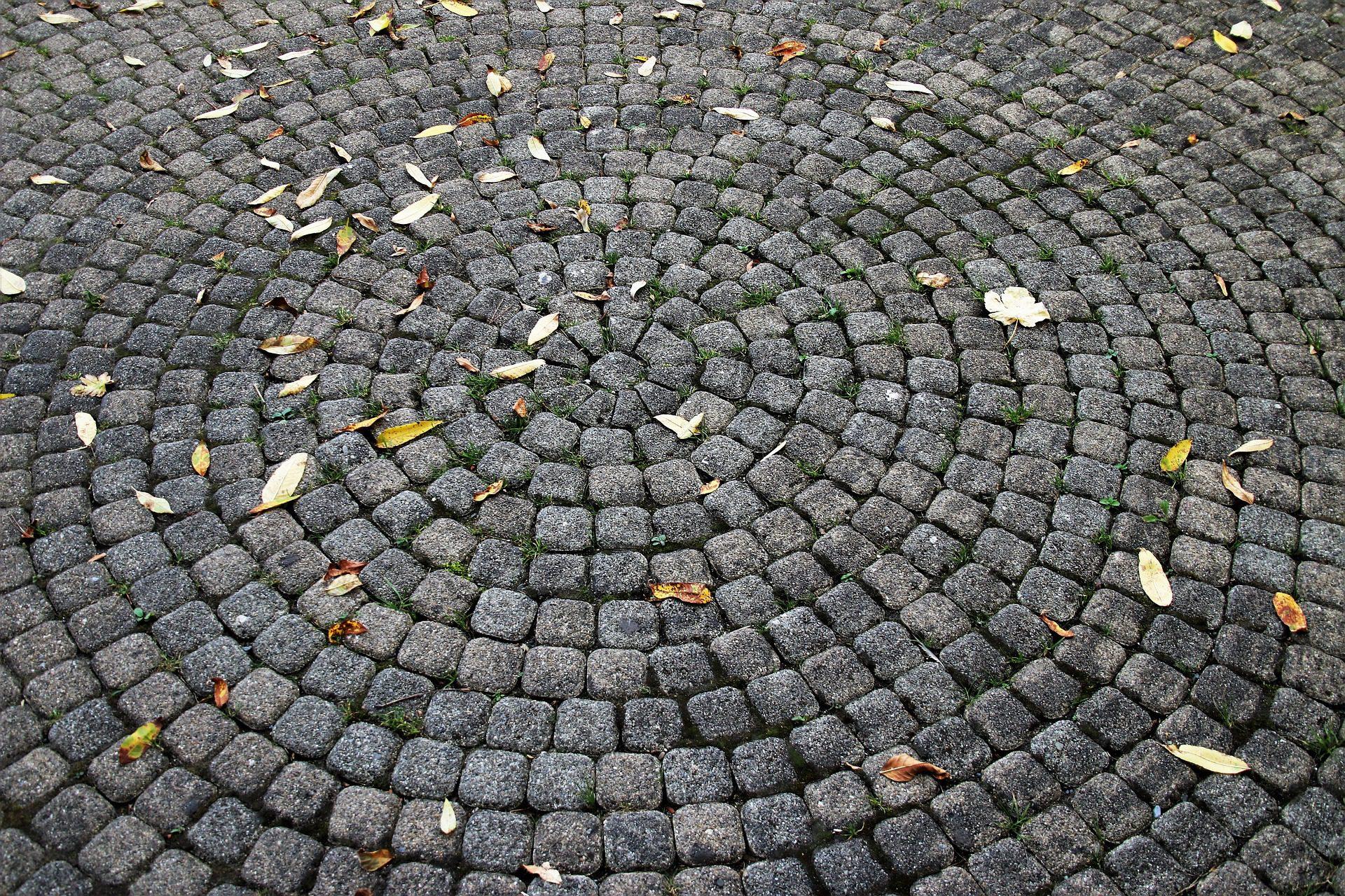 pavers in circle